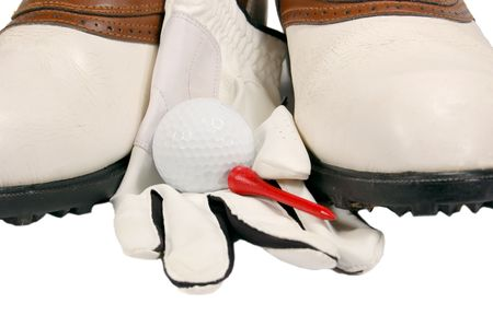 Golf Shoes Close-up