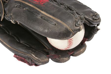 outfielders: Outfielders Glove and Ball