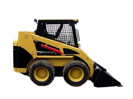 skid: Loader Stock Photo
