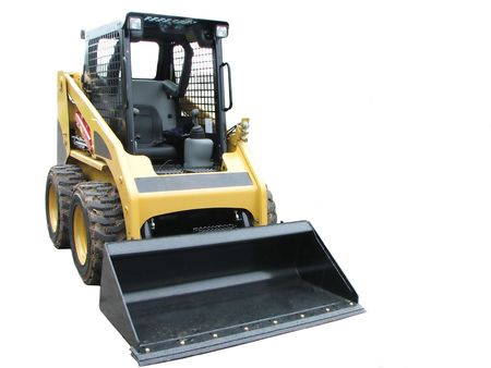 skid loader: Small Loader