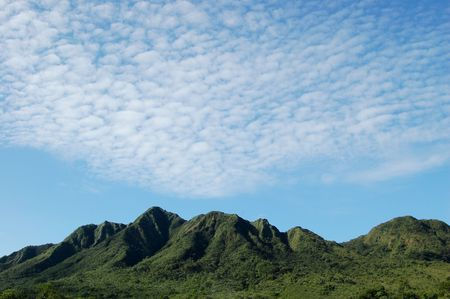 Gaital mountain in the middle of Panama