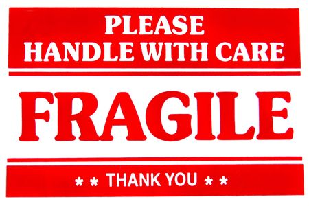 Fragile Sign Stock Photo - 3751608