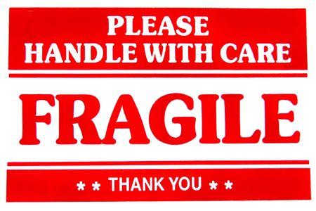 Fragile Sign Stock Photo - 3751608