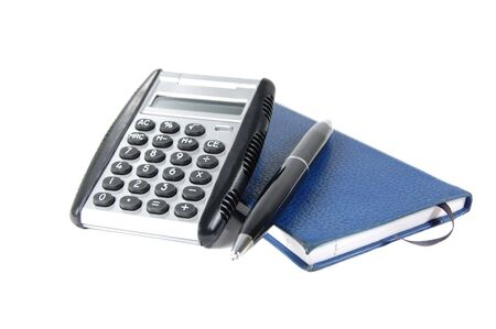 Balancing the checkbook 版權商用圖片