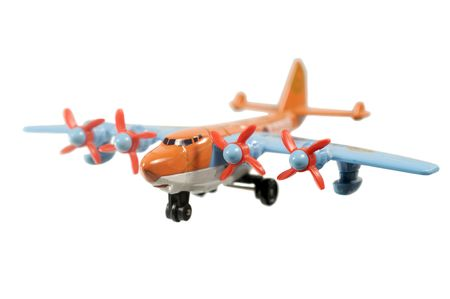 Toy plane isolated on a white background Stock Photo - 6755523