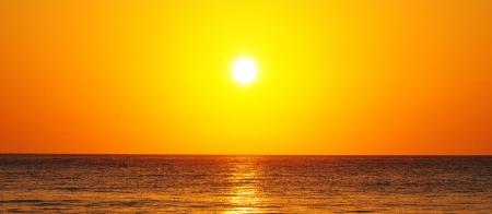 Beautiful colorful sunrise at Corona Beach, Panama photo