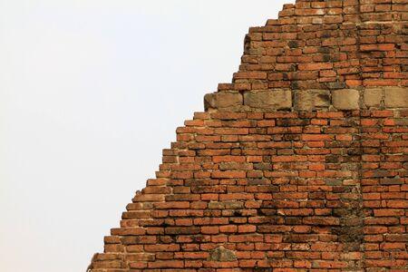 formatting: Runins brick at Lopburi province in Thailand.