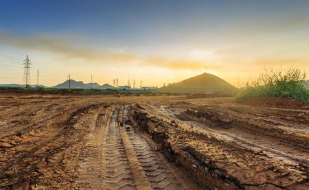 dirt road Stockfoto