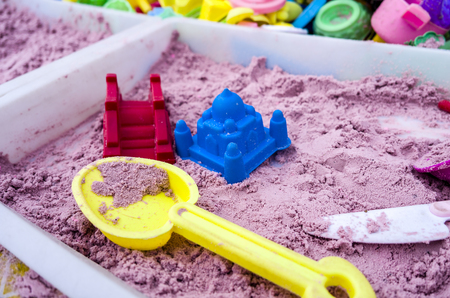 Sandbox toy parent-child game