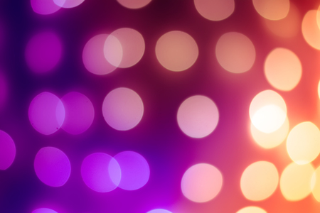 Defocused Christmas lights. Bokeh photography can be used as a background