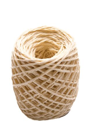 twine: Ball of twine rope for gift wrapping
