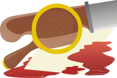 fingerprinting: The fingerprint on the instrumentalities of crime