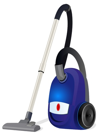 Household electric appliance for household cleaning. Vektorové ilustrace