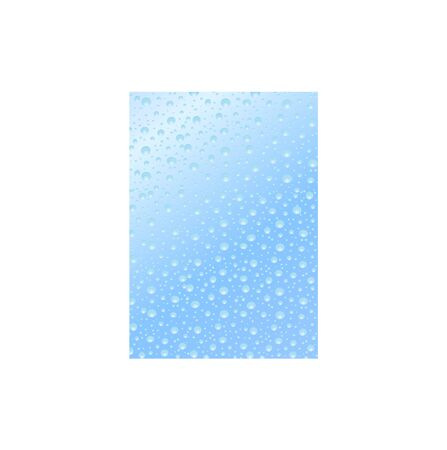 mildew: Illustration depicting water droplets on the glass