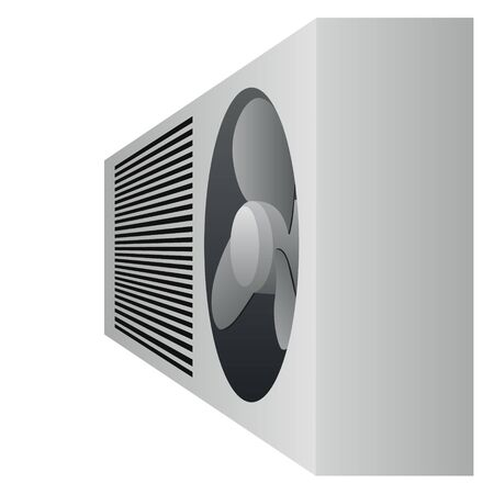 Device for cooling air. The illustration on a white background. Stock Vector - 14652476