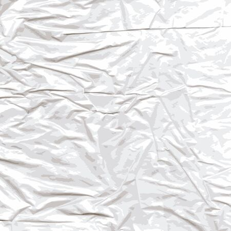 Background of crumpled cellophane  The scanned material translated into a vector drawing