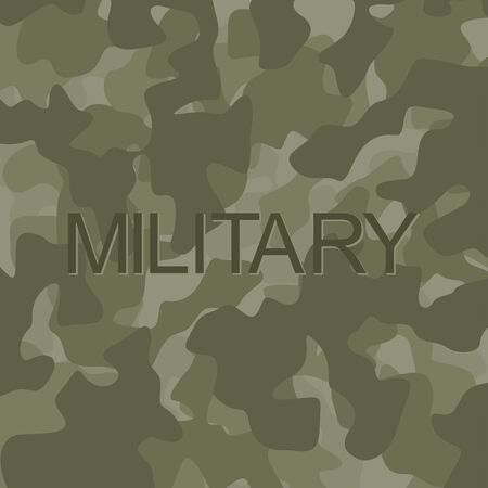 stealth: Protective camouflage army background. Abstract green background. Illustration