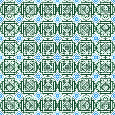 uninterrupted: Seamless abstract patterns in oriental style  The illustration on a white background