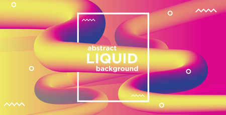 High definition abstract liquid banner background
