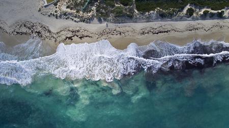 breaking: Waves breaking Stock Photo