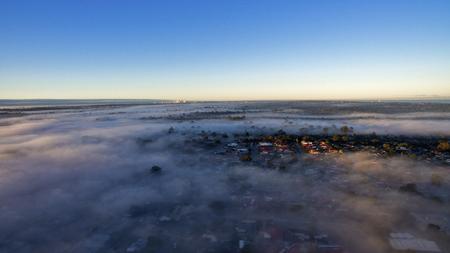 perth: Fog over Perth