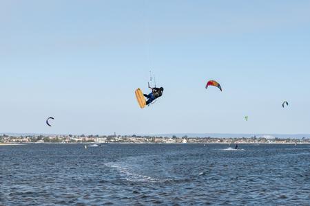 kite surfing: Kite Surfing