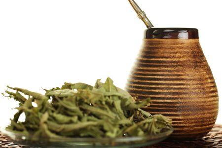Tea, yerba mate - Hot drink photo