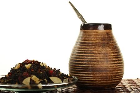 Tee, Yerba Mate - Hot Drink Standard-Bild - 18252945