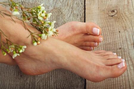 jolie pieds: Photo soin de beauté des pieds beaux pedicured