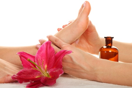 foot spa: Beauty treatment photo - Feet Massage