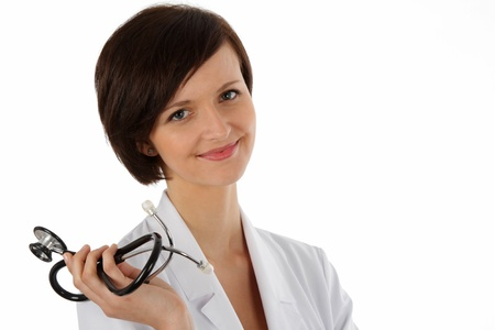 Young Female doctor - Medicine, Stethoscope,