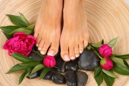 jolie pieds: Beauté photo de traitement des beaux pieds pedicured