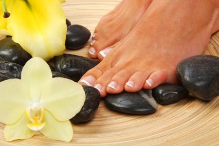 pedicura: Belleza Foto del tratamiento de buenos pies pedicura