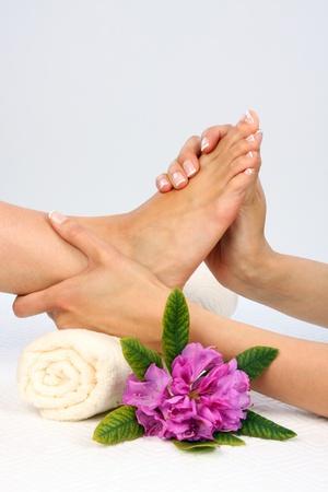 massage huile: Photo des soins de beaut� - Massage des pieds