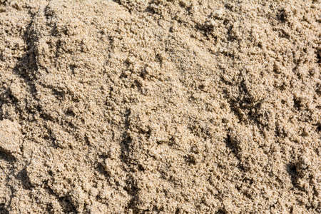 Texture of sand on the beach