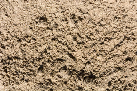 Sand creates a natural pattern