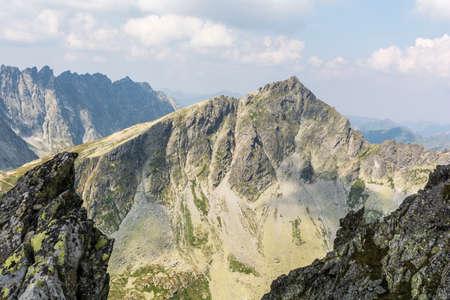 Summit Koprowy Wierch (Koprovsky stit) in the Tatra Mountains in Slovakia Zdjęcie Seryjne