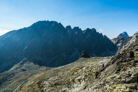 Ridge Konczystej (hreben Koncistej) in the Tatras in Slovakia.