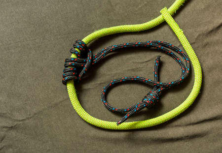 Prusik knot is a friction hitch, used in climbing the belay.
