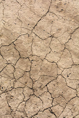 Climate change is a cause of natural disasters such as drought. Characterized by earth cracks as a result of prolonged rainfall shortages.
