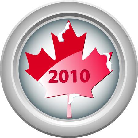 vancouver: Canada Vancouver Winter Games 2010. Editable Vector Illustration Illustration