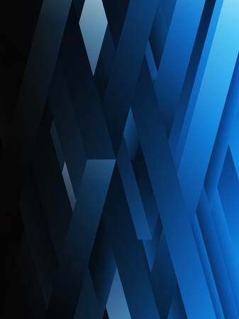 Blue abstract geometric lines background. Stock fotó - 9227941