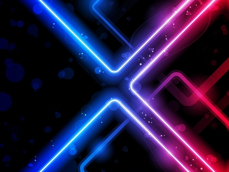 Vector - Rainbow  Lines Background Neon Laser Vector