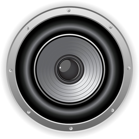 loud speaker: Vector - Round Isolated Sound Speaker