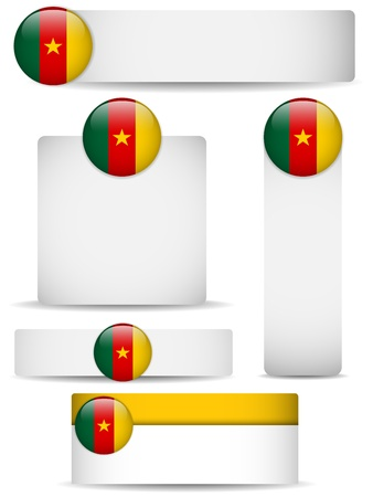 cameroon: Cameroon Country Set of Banners