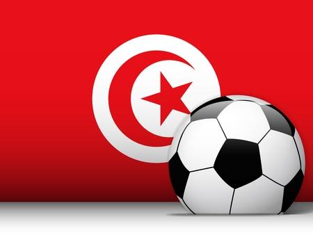 Vector - Turkey Soccer Ball with Flag Background Vector