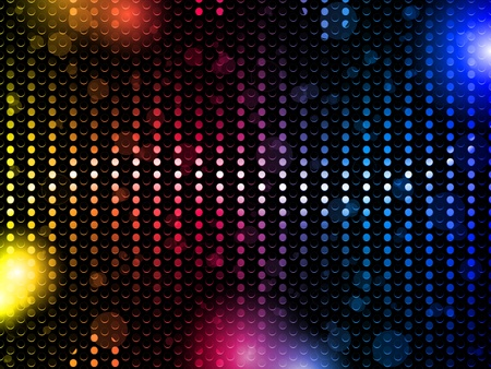 entertainment background: Vector - Colorful Rainbow Neon Party Background