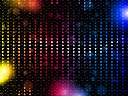 neon wallpaper: Vettore - Colorful Rainbow Party Background Neon Vettoriali