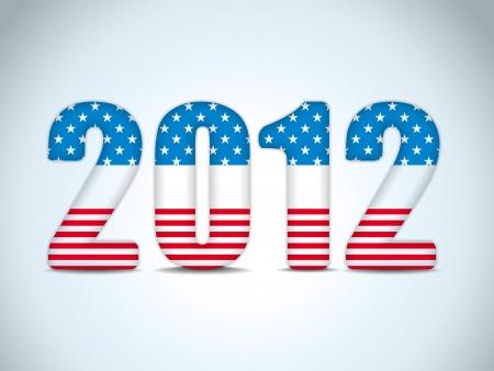 vote button: Vector - United States Election Vote Button Background.