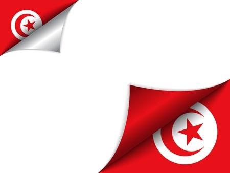 turkish flag:  Turkey Country Flag Turning Page Illustration